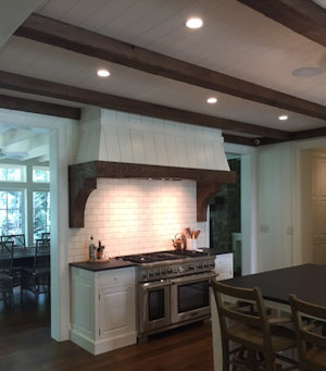 Custom interior trim by High Mountain Millwork Company, Franklin NC