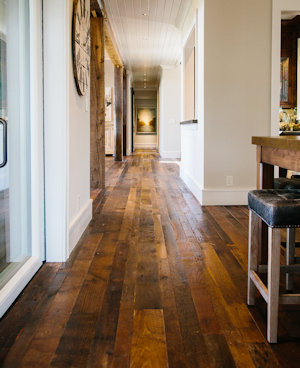 Reclaimed Barnwood Flooring - High Mountain Millwork Company, Franklin NC