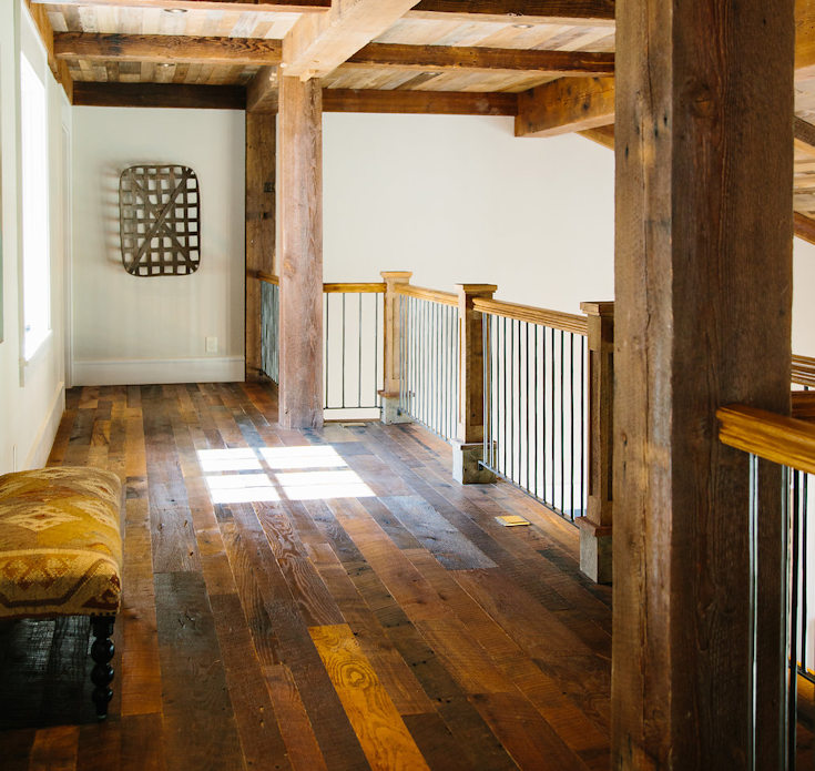 Reclaimed Wood Flooring by High Mountain Millwork Company- Franklin, NC