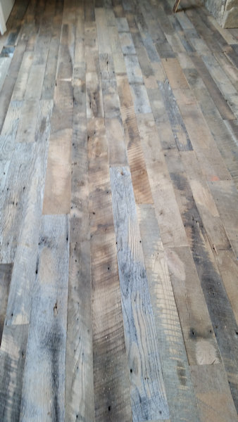 """Dirty Top"" Grade Reclaimed Wood Flooring"