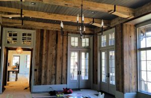 Custom Reclaimed Wood Paneling by High Mountain Millwork Company - Franklin, NC #859
