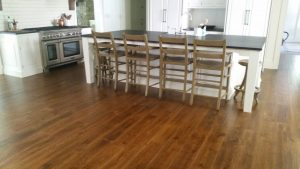 Beautiful wood floor by High Mountain Millwork Company - Franklin, NC